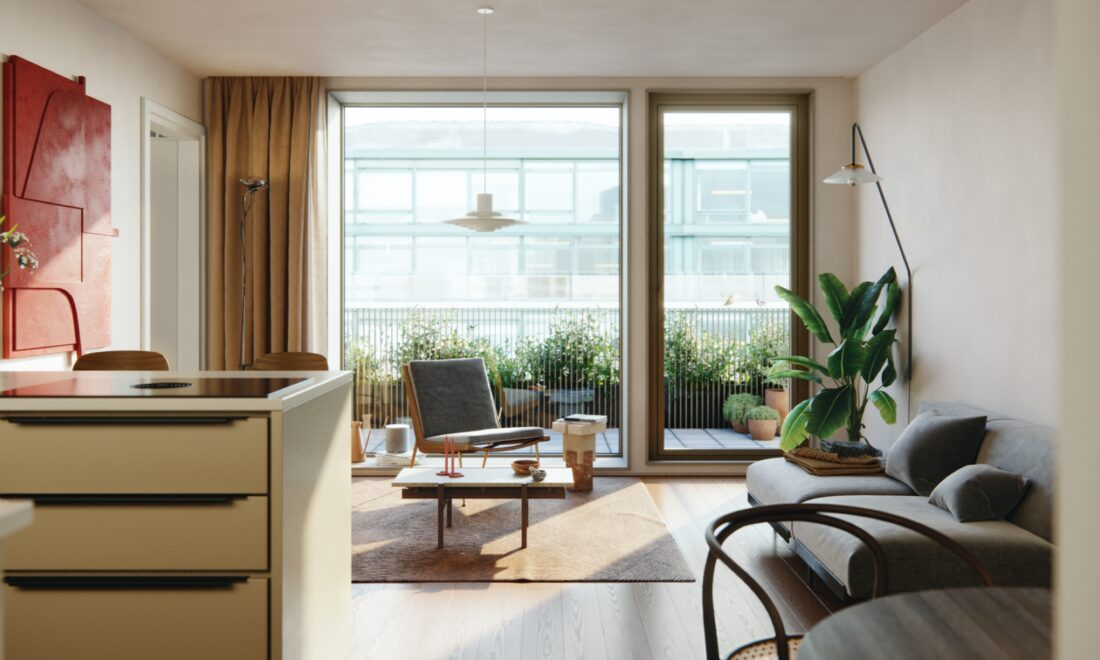 Appartementen & omgeving